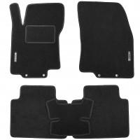 Коврики в салон для Nissan Rogue '14-20, текстильные, черные (Стандарт)