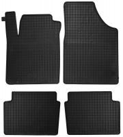 Коврики в салон для Hyundai i-10 '07-13 резиновые, черные (Petex)