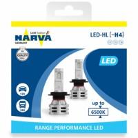 Автомобильные лампочки Narva Range Performance LED H4 (P43t-38) 12/24V 6500К 21W (2 шт.)