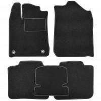 Коврики в салон для Toyota Avalon '13-17, текстильные, черные (Стандарт)