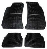 Коврики в салон для Skoda Superb '02-08 резиновые, черные (ZPV)