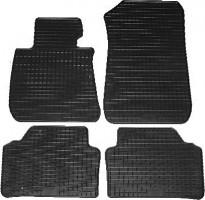 Коврики в салон для BMW 3 E90 '05-11 резиновые, черные (Petex)