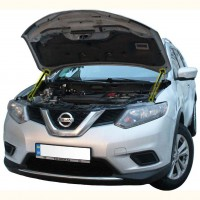 Газовые упоры капота для Nissan Rogue '14-, 2 шт.
