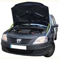 Газовые упоры капота для Renault Logan '04-12, 2 шт.