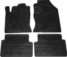 Коврики в салон для Ford Focus I '99-04 резиновые, черные (Petex)