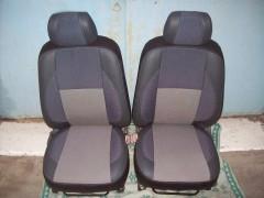 Авточехлы Premium для салона Geely MK Sedan '06-14 серая строчка (MW Brothers)