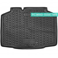 Коврик в багажник для Skoda Kamiq '20-, резино-пластиковый (AVTO-Gumm)
