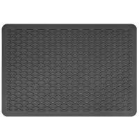 Подпятник для ковриков полимерный (15х22 мм) черный