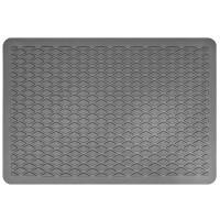 Подпятник для ковриков полимерный (15х22 мм) серый