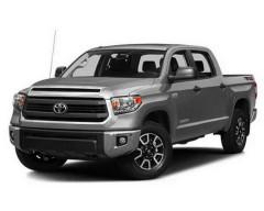 Дефлекторы окон для Toyota Tundra '13-, с болтами (ToughGuard)