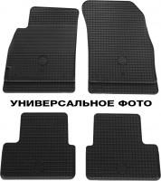 Коврики в салон для Volkswagen Golf V/VI '04-12 резиновые, черные (Petex)