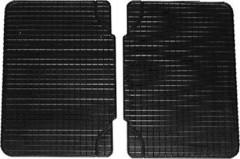 Коврики в салон для Volkswagen Sharan '01-10 резиновые, черные (Petex) 2 ряд
