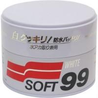 Полироль универсальный для белых авто SOFT 99 00020 White Super Wax