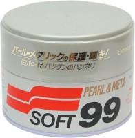 Полироль универсальный для жемчужных и металлик поверхностей SOFT 99 00027 Pearl&Metalik Soft Wax