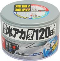 Полироль водоотталкивающий + очиститель + антицарапин для темных авто SOFT 99 00288 coating & cleaning wax silver & dark