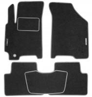 Коврики в салон для Chevrolet Lacetti '03-12 текстильные, серые (Стандарт)
