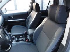 Авточехлы Premium для салона Suzuki Grand Vitara '06- серая строчка (MW Brothers)