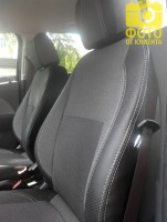 MW Brothers Авточехлы Premium для салона Chevrolet Aveo '11- серая строчка (MW Brothers)