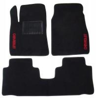 Коврики в салон для Chevrolet Captiva '06- текстильные, черные (Стандарт)