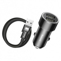 Универсальное автомобильное зарядное устройство Baseus Small Screw (TZXLD-A01)