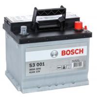 Автомобильный аккумулятор BOSCH (S3001) 41Ач