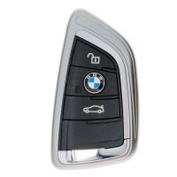 "Чехол для автоключа ""BMW"" 2009-2018 г LaManche серый"