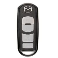 """Чехол для автоключа """"Mazda"""" от 2013 г LaManche черный"""