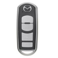 "Чехол для автоключа ""Mazda"" от 2013 г LaManche серый"