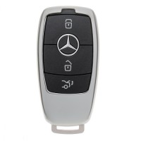 "Чехол для автоключа ""Mercedes"" от 2017 г LaManche серый"
