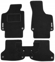 Textile-Pro Коврики в салон для Audi A3 '04-12 текстильные, черные (Стандарт)