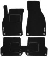 Коврики в салон для Audi A4 '00-05 текстильные, черные (Стандарт)