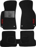 Коврики в салон для Audi A4 '05-08 текстильные, черные (Стандарт)
