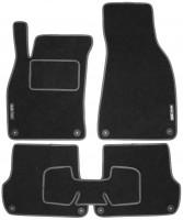 Textile-Pro Коврики в салон для Audi A4 '05-08 текстильные, серые (Стандарт)