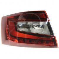 Фонарь задний для Skoda Octavia A7 '17-20 Liftback, double, левый (FPS) LED