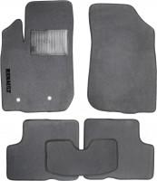Коврики в салон для Renault Duster '10-18, 4/2WD текстильные, серые (Стандарт)