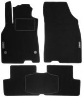 Коврики в салон для Renault Fluence '09- текстильные, черные (Стандарт)