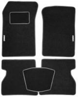 Коврики в салон для Renault Kangoo '97-09 текстильные, серые (Стандарт)