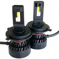Автомобильные светодиодные лампочки Prime-X серия F Pro Н4 5000K (2шт)
