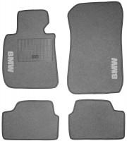Коврики в салон для BMW 1 E87 '04-12 текстильные, серые (Стандарт)