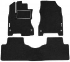Коврики в салон для Renault Koleos '06-16 текстильные, серые (Стандарт)