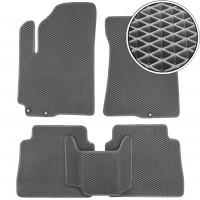 Kinetic Коврики в салон для Hyundai Santa Fe '10-12 CM, USA, EVA-полимерные, серые (Kinetic)