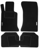 Коврики в салон для BMW 3 E36 '90-99 текстильные, черные (Стандарт)
