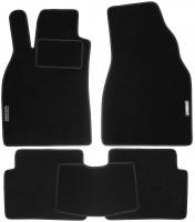 Коврики в салон для Renault Megane '02-08 текстильные, черные (Стандарт)