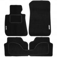 Коврики в салон для BMW 3 E90 '05-11 текстильные, черные (Стандарт)