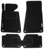 Коврики в салон для BMW 5 E34 '88-96 текстильные, черные (Стандарт)