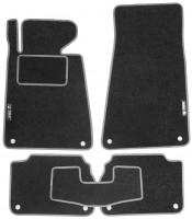 Коврики в салон для BMW 5 E34 '88-96 текстильные, серые (Стандарт)