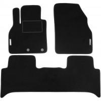Коврики в салон для Renault Scenic '09- текстильные, черные (Стандарт)