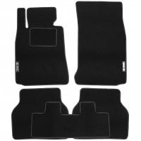 Коврики в салон для BMW 5 E39 '96-03 текстильные, черные (Стандарт)
