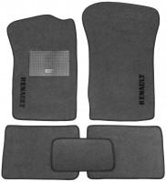Коврики в салон для Renault Clio II / Symbol '01-12 текстильные, серые (Стандарт)