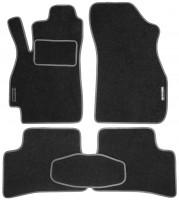 Коврики в салон для Hyundai Accent '01-05 текстильные, серые (Стандарт)
